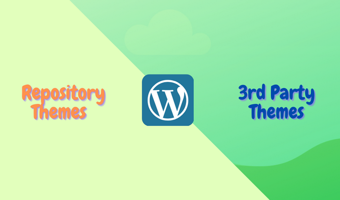 Types of WordPress themes to choose from are free and premium.