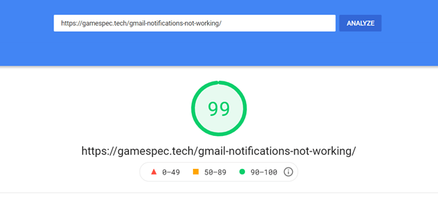 Use the Google's page speed insight if you want to see how Google sees your page's performance.