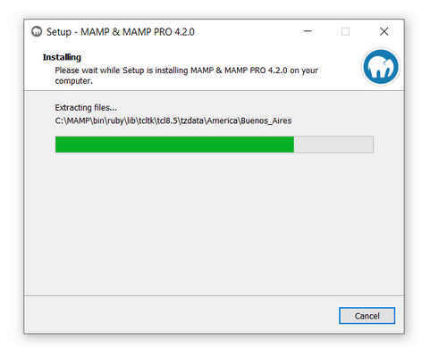 Install MAMP on Your PC