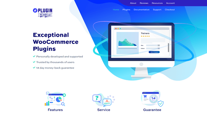 Plugin Republic specialize in WooCommerce plugins and can offer custom-made plugins to your eCommerce site.