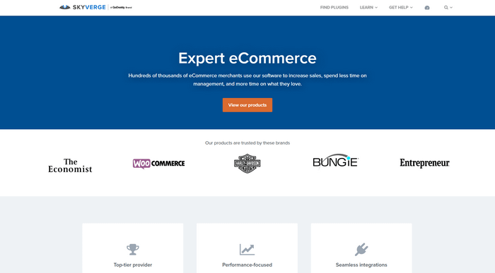 SkyVerge provide solutions for boosting sales and easing store management for eCommerce store owners.