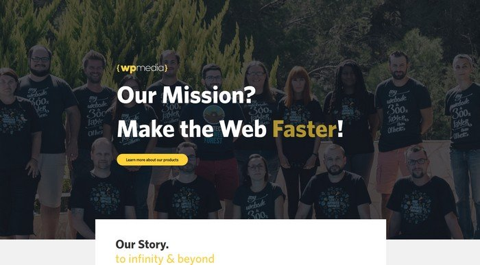 WP Media is the creator of popular plugins such as WP Rocket and Imagify.
