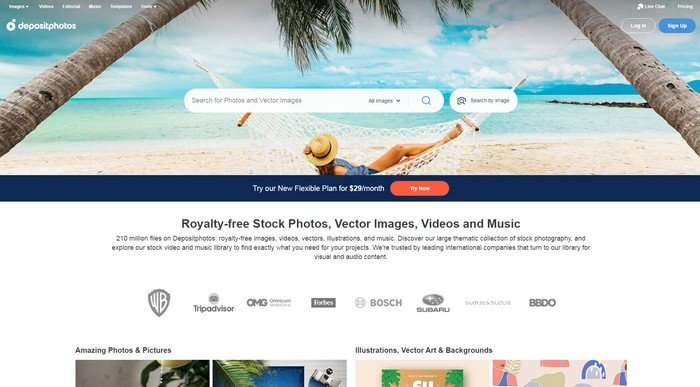Best Places to Get Premium Stock Photos - Depositphotos is an extensive online resource for images and videos.