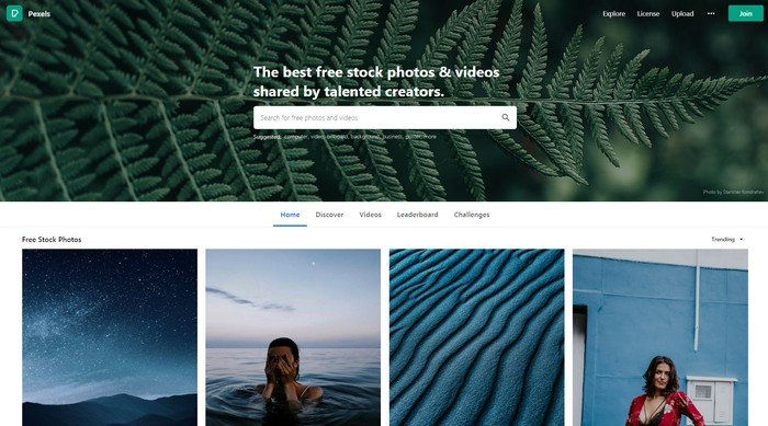 Pexels is the perfect stock images website for people with a low budget.
