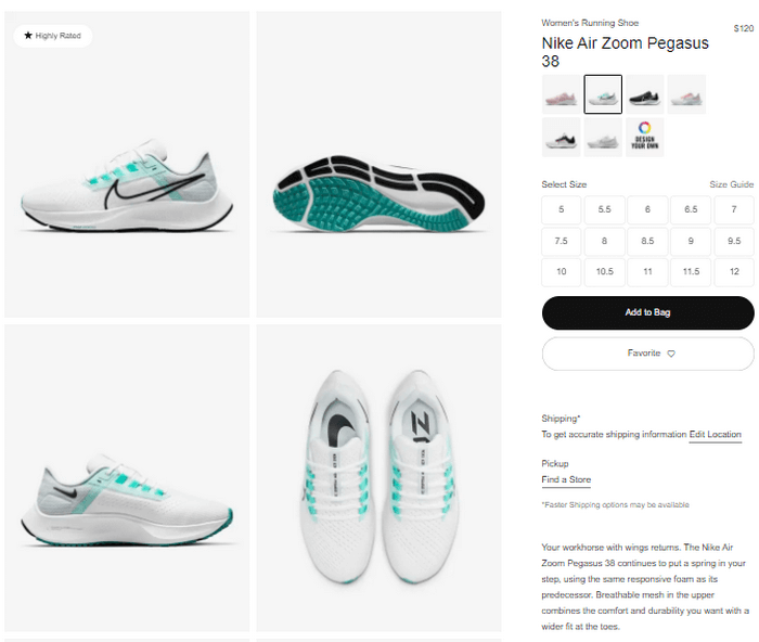 Ensure you include high-definition images of the products and well-crafted descriptions on your product page.