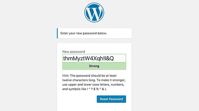 Try to reset your password if your site is hacked.