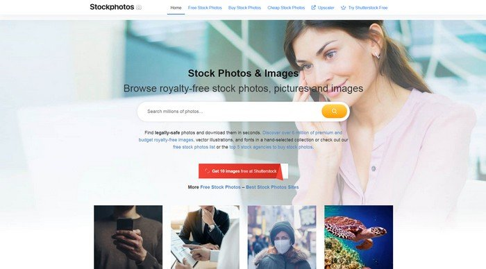 Stockphotos.comhave over 130 Million resources available.