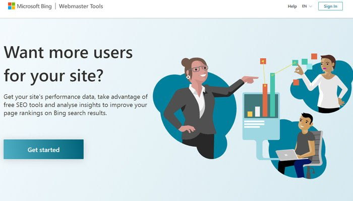 You can use Bing Webmaster Tools to get actionable data about your site performance.