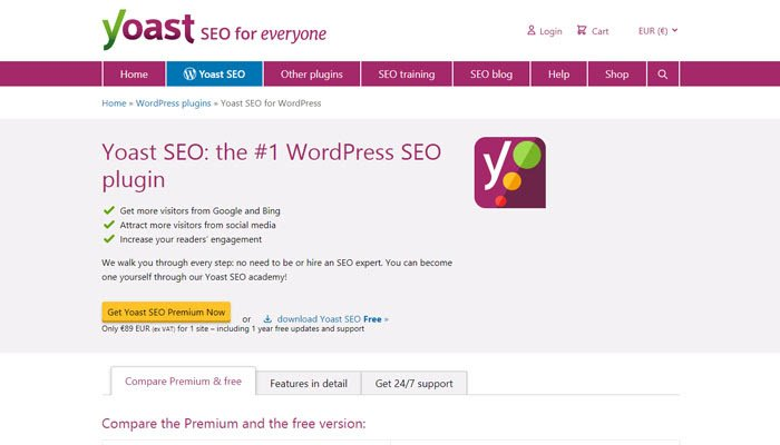We strongly recommend Yoast or Rank Math WordPress plugins.